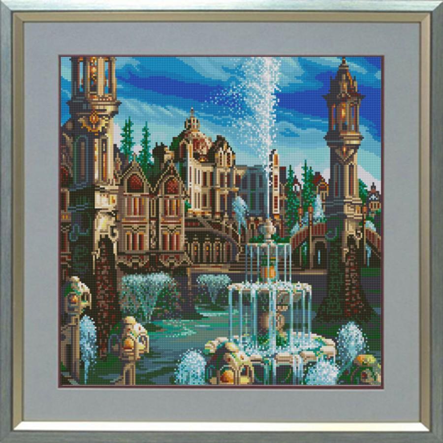 НИК 1249 Дворец 40х40 полная зашивка