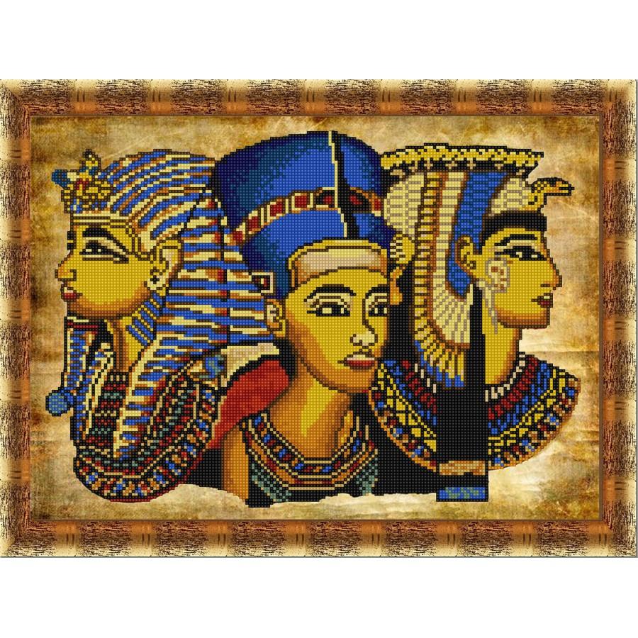 Вышитый бисером браслет в египетском стиле Нехбет»