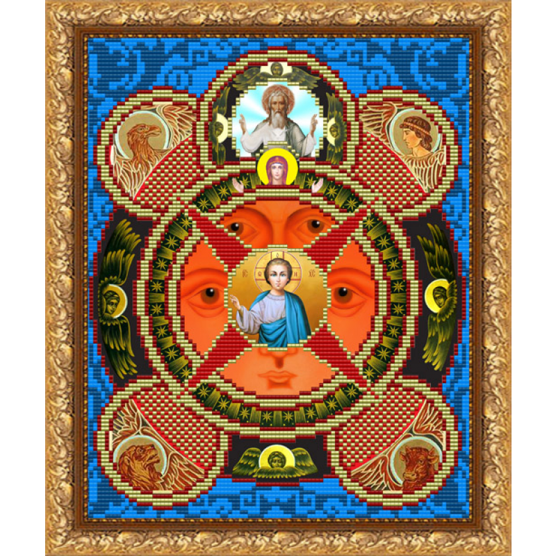 Всевидящее око схема вышивки 96