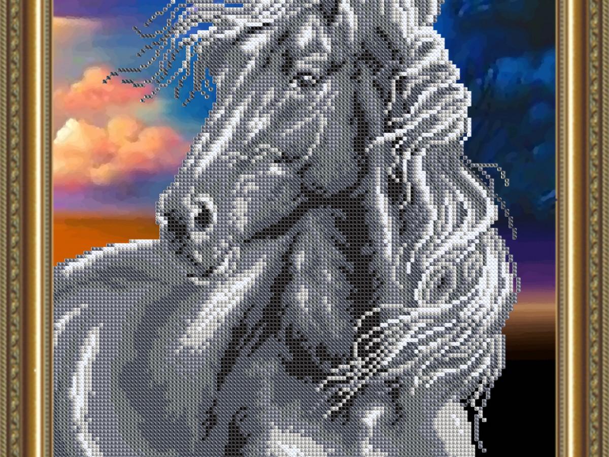 Купить вышивку бисером лошади в интернет-магазине с доставкой 19